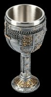 Medieval Goblet - Crest and Sword