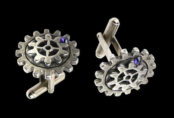 Steampunk Manschettenknöpfe - Empire Spur Gear