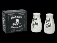 Salt and Pepper Shaker - Ashes to Ashes