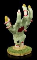 Zombie Hand als Schmuckhalter