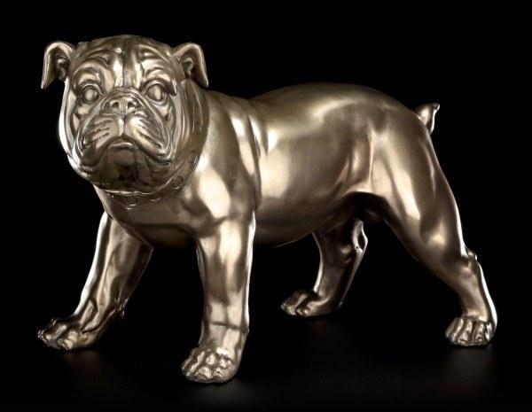 Große Hunde Figur - Bulldogge