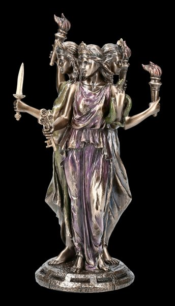 Triple Hecate Figurine