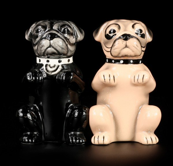 Pugs - Dog Salt and Pepper Shaker