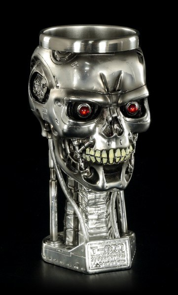 Goblet - Terminator 2 Head