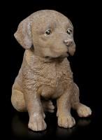 Hunde Figur - Schoko Labrador Welpe