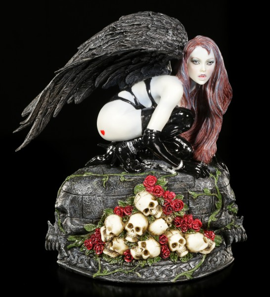 Vampir Figur - Sexy Vampirin mit Flügeln