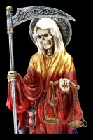 Santa Muerte Figur - regenbogenfarben