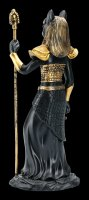 Ägyptische Krieger Figur - Bastet - Schwarz Gold