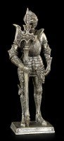 Ritter Figur mit Hellebarde rechts