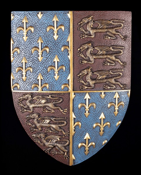 Wall Plaque Shield - Coat of Arms