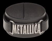 Metallica Leather Wriststrap - Alchemy Rocks