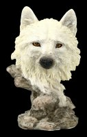 Wolf Bust - Lonely Hunter - small