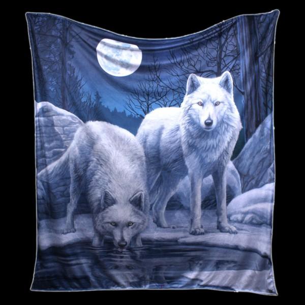 Fluffy Blanket Wolves - Warriors of Winter