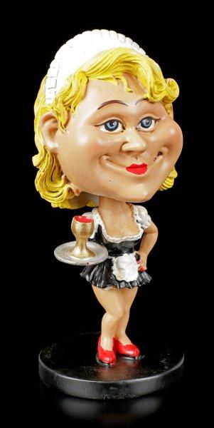 Funny Job Figur - Wackelkopf Zimmermädchen