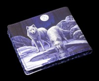 Men's Wallet with Wolves - Warriors of Winter - embossed