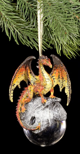 Christmas Tree Decorations - Hyperion orange