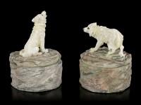 Wolf Schatullen Set - Loyale Wächter - 2er Set