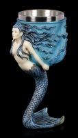 Fantasy Goblet - Mermaid by Anne Stokes