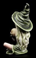 Hexen Figur - Prinzessin Zelda mit Totenkopf