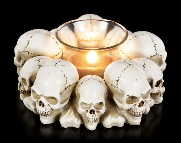 Skull Tealight Holder
