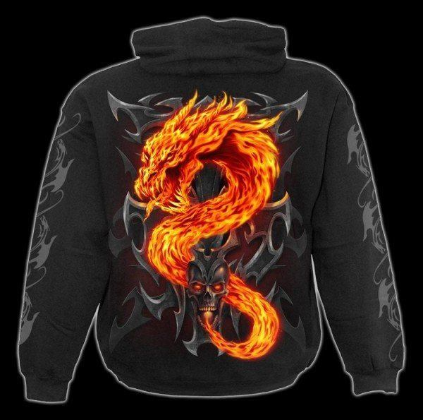 Preview: Fire Dragon - Hoodie