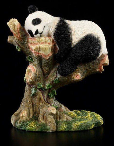 Panda Figur schlafend