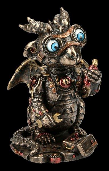Steampunk Figurine - Little Dragon