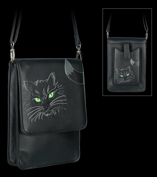 Shoulder Bag with Phone Compartment - Lucky Cat