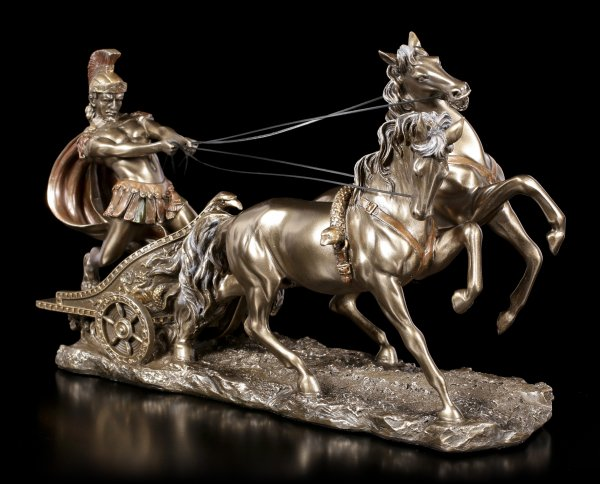 Roman Chariotry - Figurine