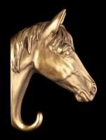 Kleiderhaken - Pferdekopf