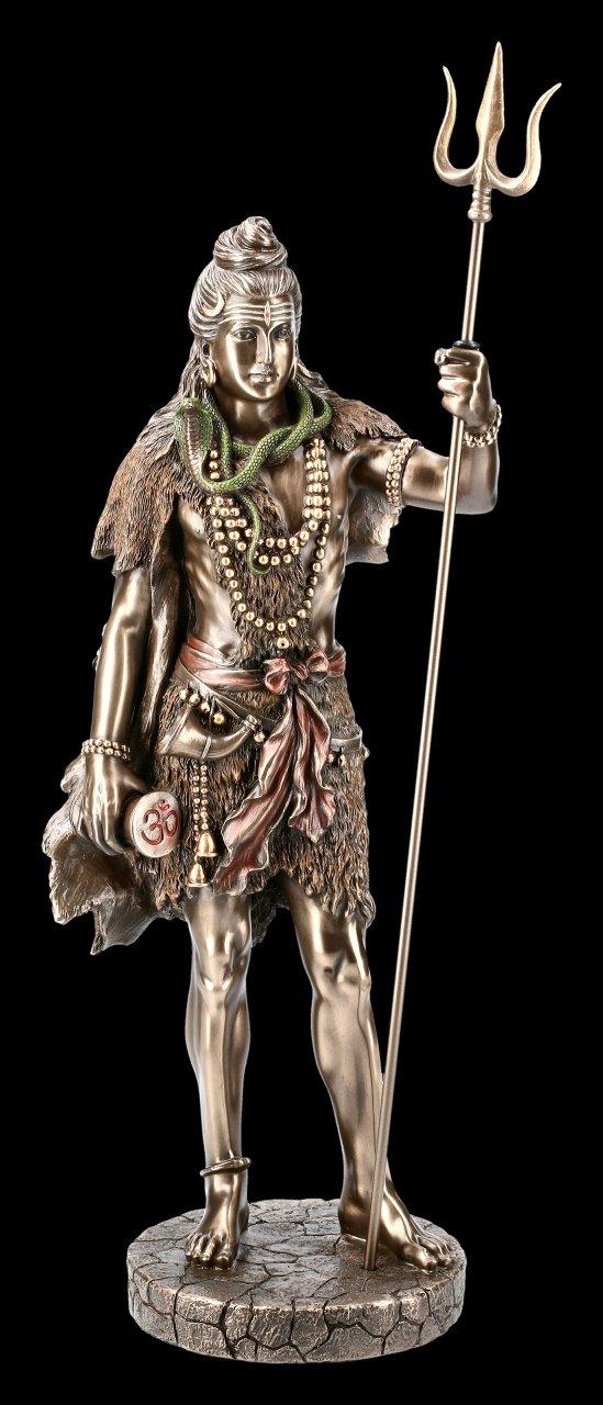 Große Shiva Figur mit Trishula