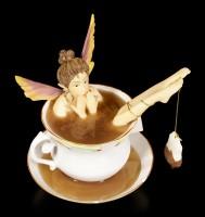 Fairy in Cup Figurine - Tea Bath
