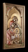 Wall Plaque Icon - Holy Family