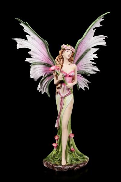 Elfen Figur - Florana mit Blumen