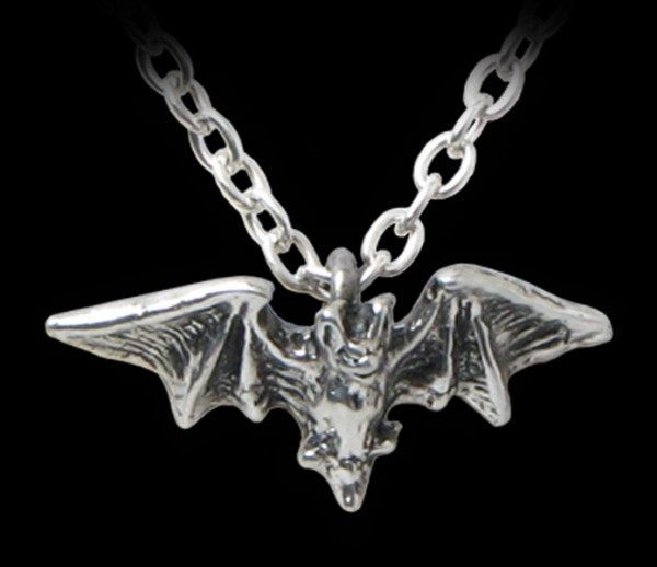 Kiss of the Night - Alchemy Gothic Pendant