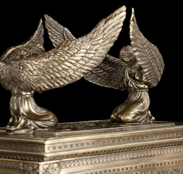 Ark Of The Covenant Box - bronzed