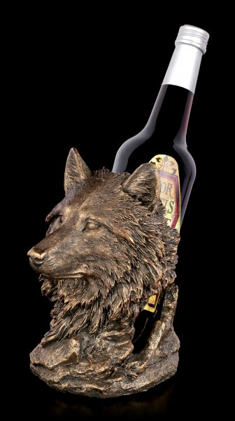 Bottle Holder - Wolfs Head