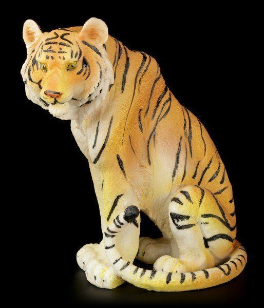 Tiger Figurine - Sitting on the Floor