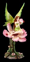 Fairy Figurine - Katy sitting on Flower