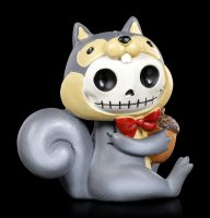 Large Furry Bones Figurine - Nibbles