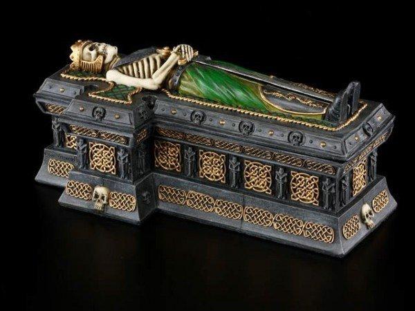 Skelett Sarg Box - Celtic King