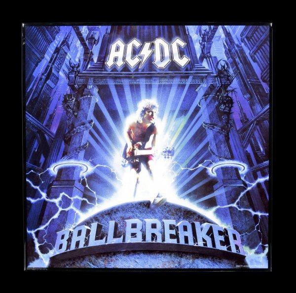 AC/DC Hochglanz Bild - Ballbreaker