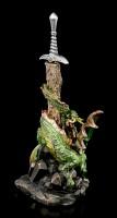 Brieföffner Drache - Sword of Alastar - bunt