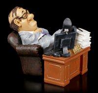 Funny Job Figur - Boss am Schreibtisch