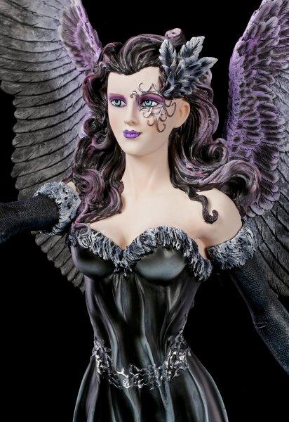 Große Engel Figur - Dark Angel Maeven