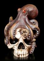Totenkopf - Oktopus Schädel