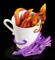 Dragon Figurines in Cup - Wake Up Dragons