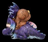 Elfen Figur mit Drache - Companion Cuddle