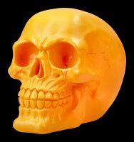 Totenkopf Neon - Psychedelisches Orange