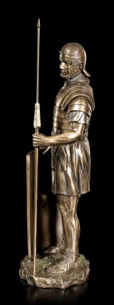Römer Figur - Soldat mit Speer und Schild